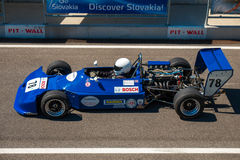 Classic formula race car Royalty Free Stock Image