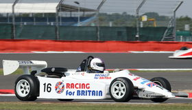 Classic Formula 3 racing car Stock Images
