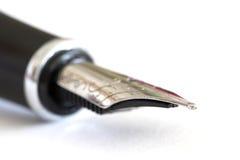 Classic fountain pen close-up Stock Photos