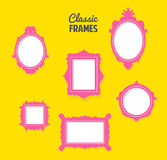 Classic frames Royalty Free Stock Image