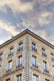 Classic French building Stock Image