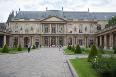 Classic french castle in Paris. Royalty Free Stock Photography