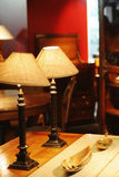 Classic french furnitures. In warm light royalty free stock image