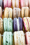 Classic french macaroons Royalty Free Stock Photo