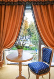 Classic french style hotel room Royalty Free Stock Images