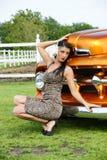classic front model truck стоковая фотография rf