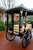 Classic funeral carriage Stock Photo