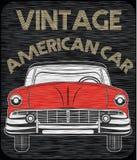 Classic Garage American Car Stock Photos