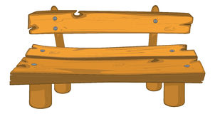 Classic garden bench Royalty Free Stock Images