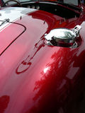 Classic Gas Cap. Gas cap and rear fender on hot 2005 sports car Stock Images