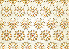Classic Gear or Cogwheel Pattern on Pastel Color Stock Images