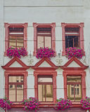 Classic German building facade Stock Photo