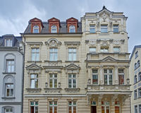 Classic German building facade Royalty Free Stock Photo
