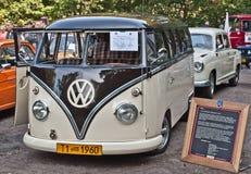 Classic German van Volkswagen Bus T1 Stock Photography