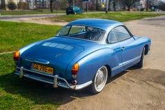Classic German car Volkswagen Karmann Ghia Royalty Free Stock Photo