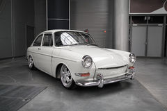 Classic german car, Volkswagen 1600 TL Stock Photos