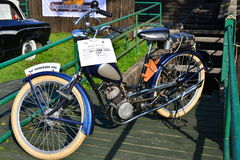 Classic German motorcycle Wanderer Royalty Free Stock Photo