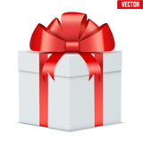 Classic Gift Box. Royalty Free Stock Photos