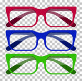 Classic Glasses Icon Stock Photography