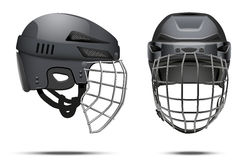 Classic Goalkeeper Hockey Helmet Royalty Free Stock Photos