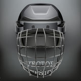 Classic Goalkeeper Hockey Helmet Royalty Free Stock Photography