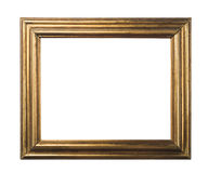 Classic gold frame. Stock Image