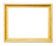 Classic gold frame Royalty Free Stock Photo