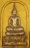 Classic golden Buddha Royalty Free Stock Images