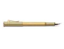 Classic golden fountain pen Royalty Free Stock Photos