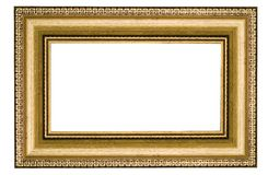 Classic Golden Frame Stock Photo