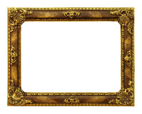 Classic golden Frame Stock Photos