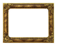 Classic golden Frame Stock Images