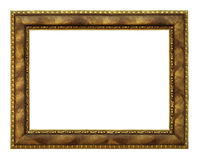 Classic golden Frame Stock Photography