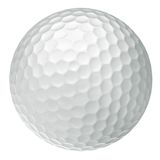 Classic golf ball Stock Photos