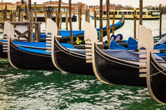 Classic Gondolas Royalty Free Stock Photos