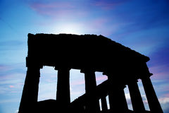 Classic Greek (Doric) Temple Stock Photos