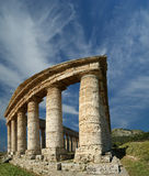 Classic Greek (Doric) Temple at Segesta Royalty Free Stock Photo