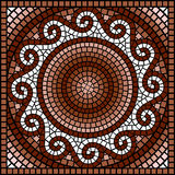 Classic Greek mosaic Royalty Free Stock Image
