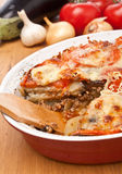 Classic greek moussaka Stock Photo