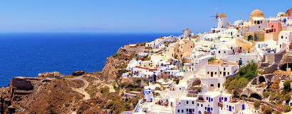 Classic Greek view Royalty Free Stock Photos