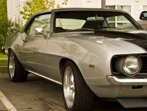 Classic Grey Car Royalty Free Stock Image