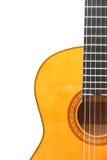 Classic guitar. Detail of classic (spanish) guitar Royalty Free Stock Image