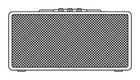 Classic Guitar Amplifier Stock Photos
