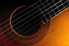 Classic guitar Stock Photos