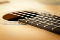 Classic Guitar Closeup. Classic Guitar Close up Image Stock Images