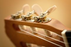 Classic Guitar Closeup. Classic Guitar Close up Image Stock Photography