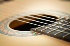 Classic Guitar Closeup. Classic Guitar Close up Image Royalty Free Stock Image