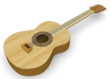 Classic Guitar - 3D Stock Photos