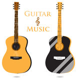 Classic guitar  Stock Images