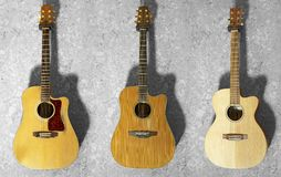Acoustic guitars Stock Photos